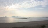 해변가에 서서,부산광역시 사하구
