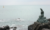 동백섬 바위 위에서,부산광역시 해운대구