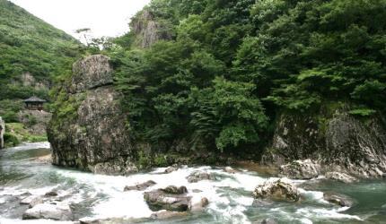옥수청산(玉水靑山)이 펼쳐지는 '운일암·반일암',전라북도 진안군