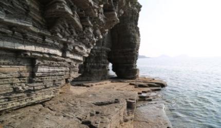 파도와 공룡이 만든 신비한 풍경, 상족암군립공원,경상남도 고성군