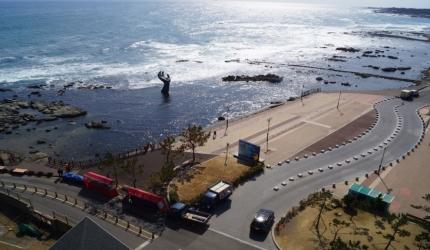 아름다운 일출을 지키는 호미곶 등대,경상북도 포항시