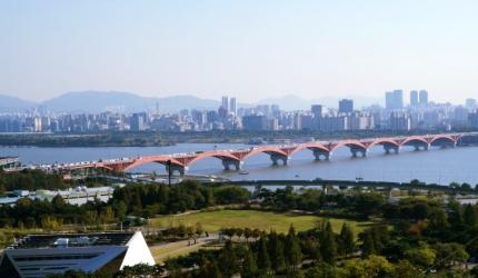 수상 교통부터 수상 레포츠까지, 망원한강공원,서울특별시 마포구