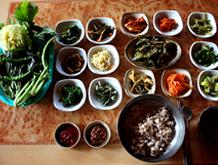 무등산 보리밥의 그 맛