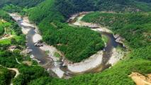 물길 따라 뚜벅뚜벅, 왕피천 계곡 트레킹