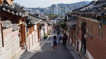 과거와 현재의 경계 북촌한옥마을,서울특별시 종로구