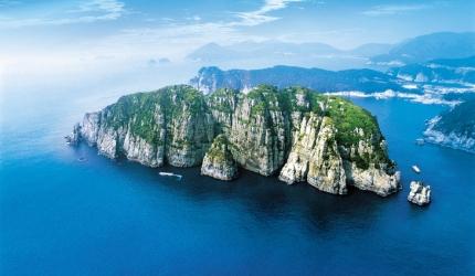 바다의 금강산이라 불리는 거제도 해금강,경상남도 거제시