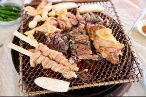 광양닭숯불구이,전라남도 광양시,지역음식