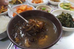 듬북국,전라남도 진도군,지역음식