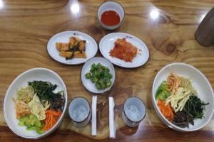 산채정식&산채비빔밥,전라북도 완주군,지역음식