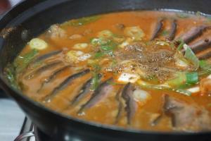 흑염소고기,충청북도 영동군,지역음식