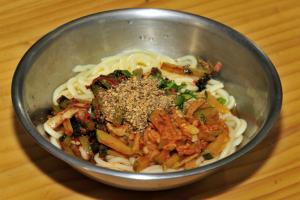올챙이국수,강원도 평창군,지역음식