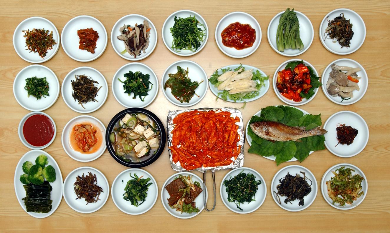 산채정식,충청남도 예산군,지역음식