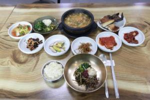 산채비빔밥,경상북도 영양군,지역음식