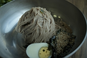 막국수,강원도 고성군,지역음식