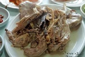 토종닭백숙,충청북도 단양군,지역음식