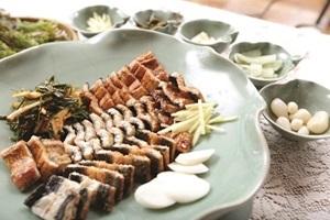 민물장어구이,전라남도 강진군,지역음식
