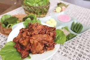 돼지불고기구이 ,전라남도 강진군,지역음식