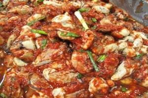 어리굴젓,전라남도 고흥군,지역음식