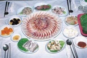 도리포숭어회,전라남도 무안군,지역음식