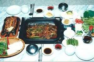 메기찜,전라남도 장성군,지역음식