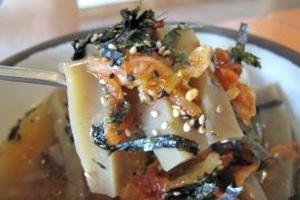 도토리묵밥,충청북도 단양군,지역음식