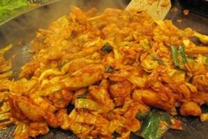 ★닭갈비,강원도 춘천시,지역음식