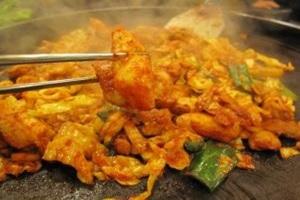 닭요리,전라남도 해남군,지역음식