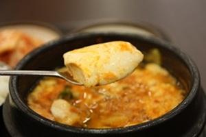 순두부찌개,전라북도 완주군,지역음식