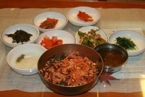비빔밥,경상남도 양산시,지역음식