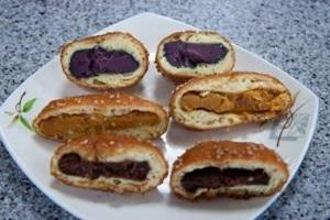 오미사꿀빵,경상남도 통영시,지역음식
