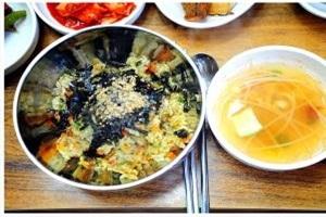 따개비밥,경상북도 울릉군,지역음식