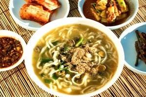 따개비칼국수,경상북도 울릉군,지역음식