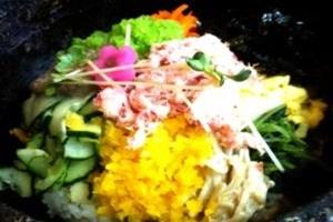 대게 비빔밥,경상북도 울진군,지역음식