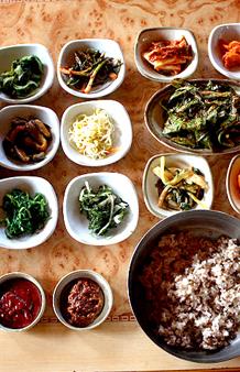 무등산의 향긋한 보리밥