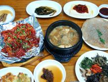산의 봄 선물, 산채비빔밥