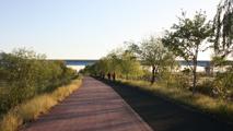 강변 산책