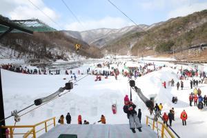 칠갑산얼음분수축제,충청남도 청양군,지역축제,축제정보