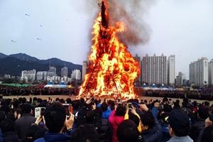 사상전통달집놀이,부산광역시 사상구,지역축제,축제정보