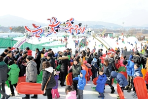 지리산에 눈꽃이 피다! 동심되어 즐기는 지리산바래봉눈꽃축제,전라북도 남원시