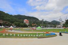대관령의 파란 하늘과 푸른 들판 , 용평루지, 국내여행, 여행정보