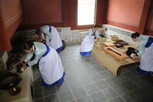 대장금의 음식은 경복궁 소주방에서 만들어졌다,서울특별시 종로구