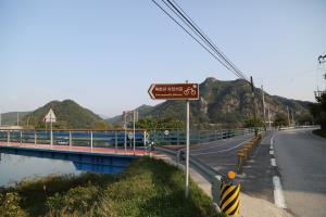 바람 따라 물결 따라, 북한강 자전거길,강원도 춘천시