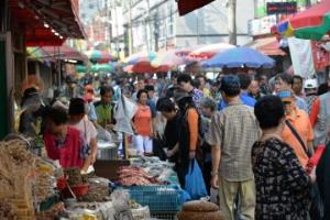 옛 모습 그대로 정겨워, 성남 모란시장,경기도 성남시