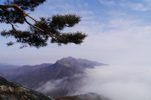 강촌의 클라이맥스, 기-승-전-'강선봉'의 운해,강원도 춘천시