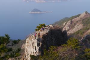 남해에 그린 아름다운 섬, 사량도 ,경상남도 통영시
