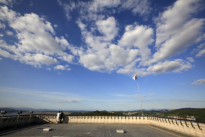 북녘 땅을 조망 할 수 있는 곳. 파주 오두산 통일 전망대, 국내여행, 여행정보