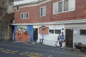 낙산성곽을 따라. 서울 속 아기자기한 공간 이화동 벽화마을,서울특별시 종로구