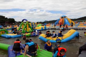합천바캉스축제로 무더위를 날려라! 은빛 모래 반짝이는 정양레포츠공원,경상남도 합천군