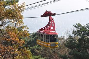 신선경에 들어선 느낌, 금강공원케이블카,부산광역시 동래구