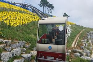 """""""통영 욕지섬 모노레일, 12월 14일 개장!"""""""